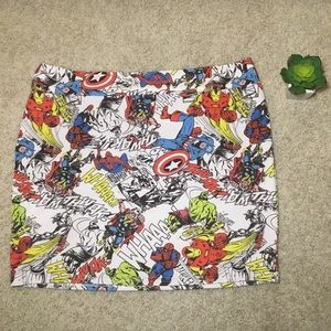 Marvel Heroes Skirt